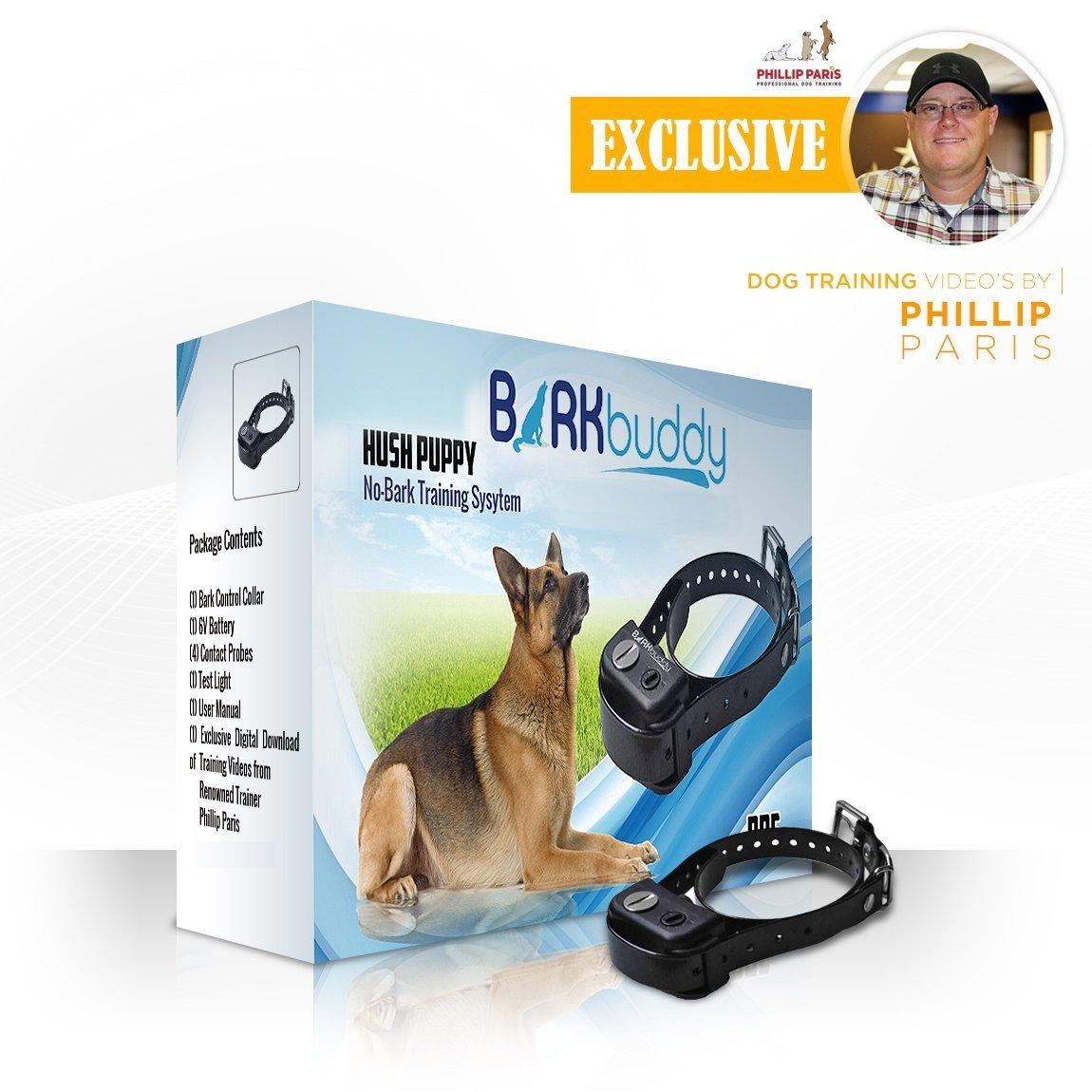 Bark Buddy Hush Puppy Bark Control Collar
