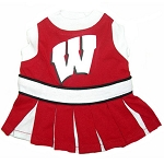 Wisconsin Badgers Cheerleader Outfit for Dogs