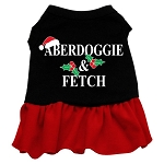 Aberdoggie Christmas Dress