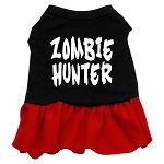 Zombie Hunter Dog Dress - Red