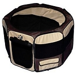 Travel Lite Soft-Sided Pet Pen in Sahara