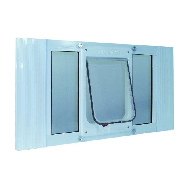 Ideal Pet Aluminum Sash Window Chubby Kat Door