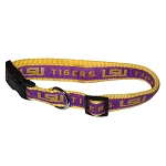 LSU Tigers Dog Collars