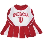 Indiana Hoosiers Cheerleader Outfit for Dogs