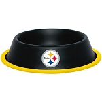 Pittsburgh Steelers Stainless Dog Bowl