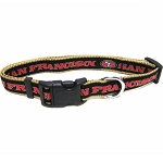 San Francisco 49ers NFL Dog Collars