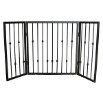 Emperor Rings Freestanding Pet Gate
