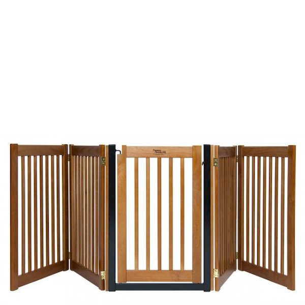 Wooden Accordion Gates - Wooden Designs