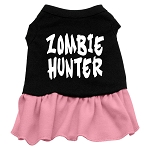 Zombie Hunter Dog Dress - Pink
