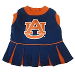 Auburn Tigers Cheerleader Outfit for Dogs