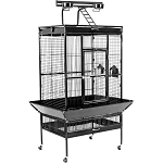 Large Wrought Iron Play Top Bird Cage