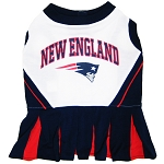 New England Patriots NFL Cheerleader Outfit for Dogs