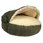 Small Luxury Cozy Cave Pet Bed