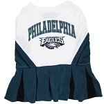 Philadelphia Eagles NFL Cheerleader Outfit for Dogs