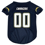 San Diego Chargers Deluxe Dog Jersey