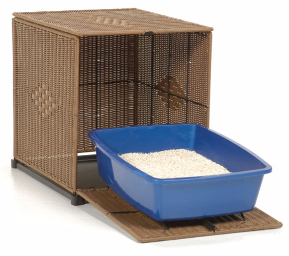 Mr herzher39s wicker litter box covers free shipping for Furniture covers petsmart