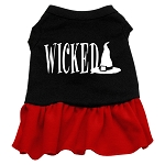 Wicked Dog Dress - Red