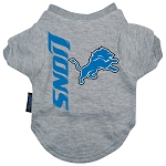 Detroit Lions Dog Tee Shirt
