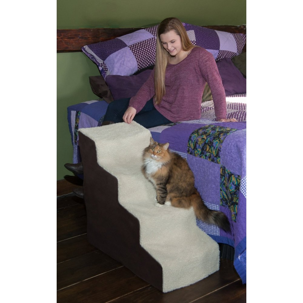 Awesome Pet Gear Easy Step IV Deluxe Soft Pet Stairs