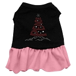 Peace Tree Rhinestone Dress