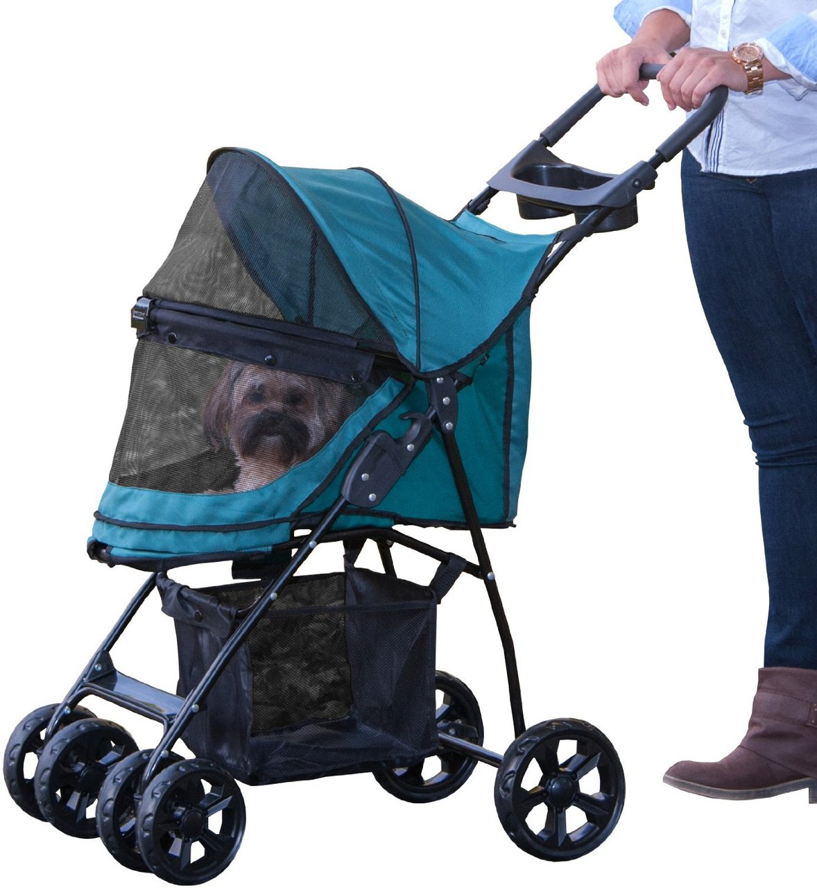 Pet Gear Happy Trails Lite No Zip Pet Stroller