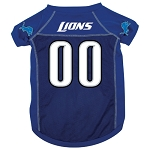Detroit Lions Deluxe Dog Jersey