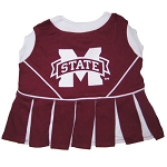 Mississippi State Cheerleader Outfit for Dogs