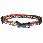 Miami Dolphins NFL Dog Collars
