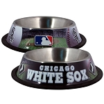 Chicago White Sox Stainless Dog Bowl