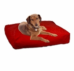 Extra Large Rectangular Pillow Dog Bed