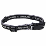 Oakland Raiders NFL Dog Collars
