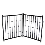 Emperor Rings 2 Freestanding Dog Gate