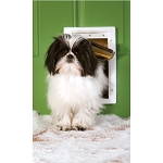 PetSafe Extreme Weather Plastic Frame Dog & Cat Door - Small