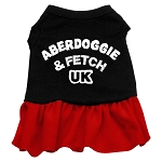 Aberdoggie UK Dog Dress - Red