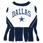 Dallas Cowboys NFL Cheerleader Outfit for Dogs