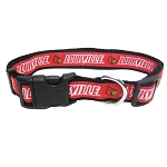 Louisville Cardinals Dog Collars