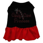 Candy Cane Princess Rhinestone Dress
