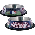 Washington Nationals Stainless Dog Bowl