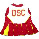 USC Trojans Cheerleader Outfit for Dogs