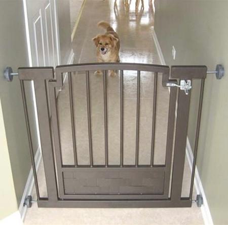 Petstop Royal Weave Hallway Dog Gate Pressure Mount Pet Gate