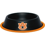 Auburn Tigers Stainless Dog Bowl