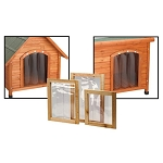 Premium Plus Dog House Door Flaps