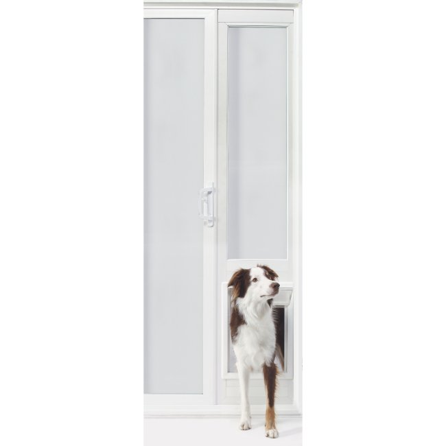 Ideal Pet Vip Vinyl Insulated 78 Inch Pet Patio Door Radiofence