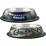 Indianapolis Colts Stainless Dog Bowl