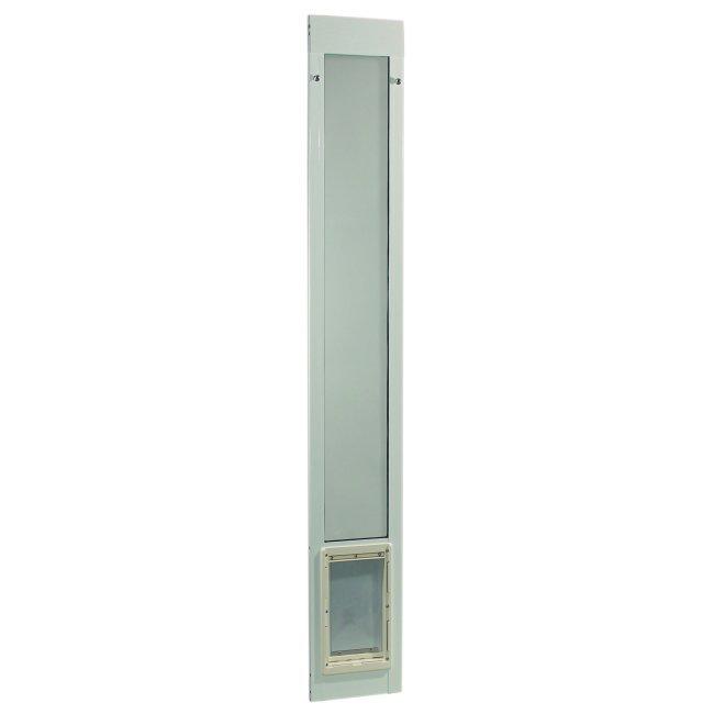 Ideal pet fast fit pet patio door for 96 inch doors for Ideal dog door