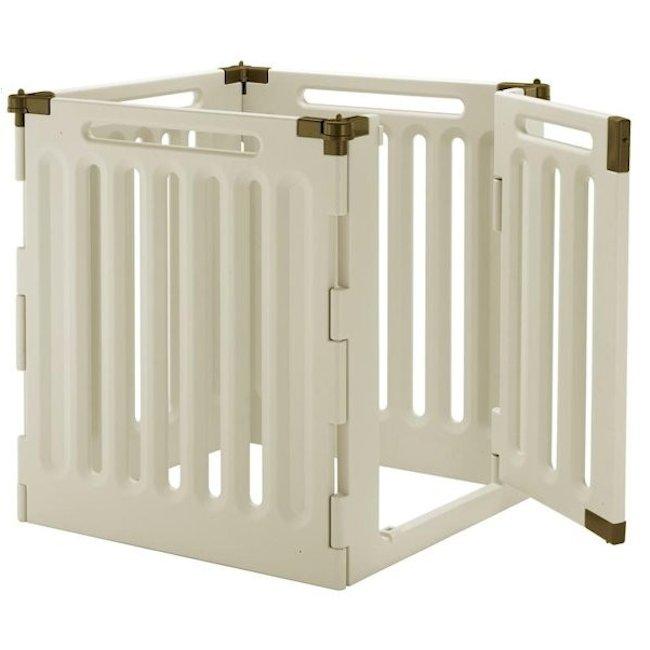 Richell Convertible Indoor Outdoor 4 Panel Pet Playpen