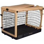 Deluxe Steel Dog Crate With Pad