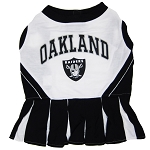 Oakland Raiders NFL Cheerleader Outfit for Dogs