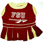 Florida State Cheerleader Outfit for Dogs