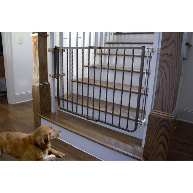 Wrought Iron Decor Dog Gate - Free Shipping